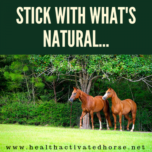 Stick With What's Natural... (1)